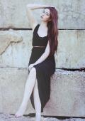 платье. черный цвет