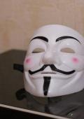 Маска Гая Фокса, V for Vendetta