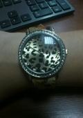 Леопардовые часики