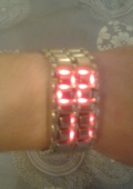 Часы-браслет LED