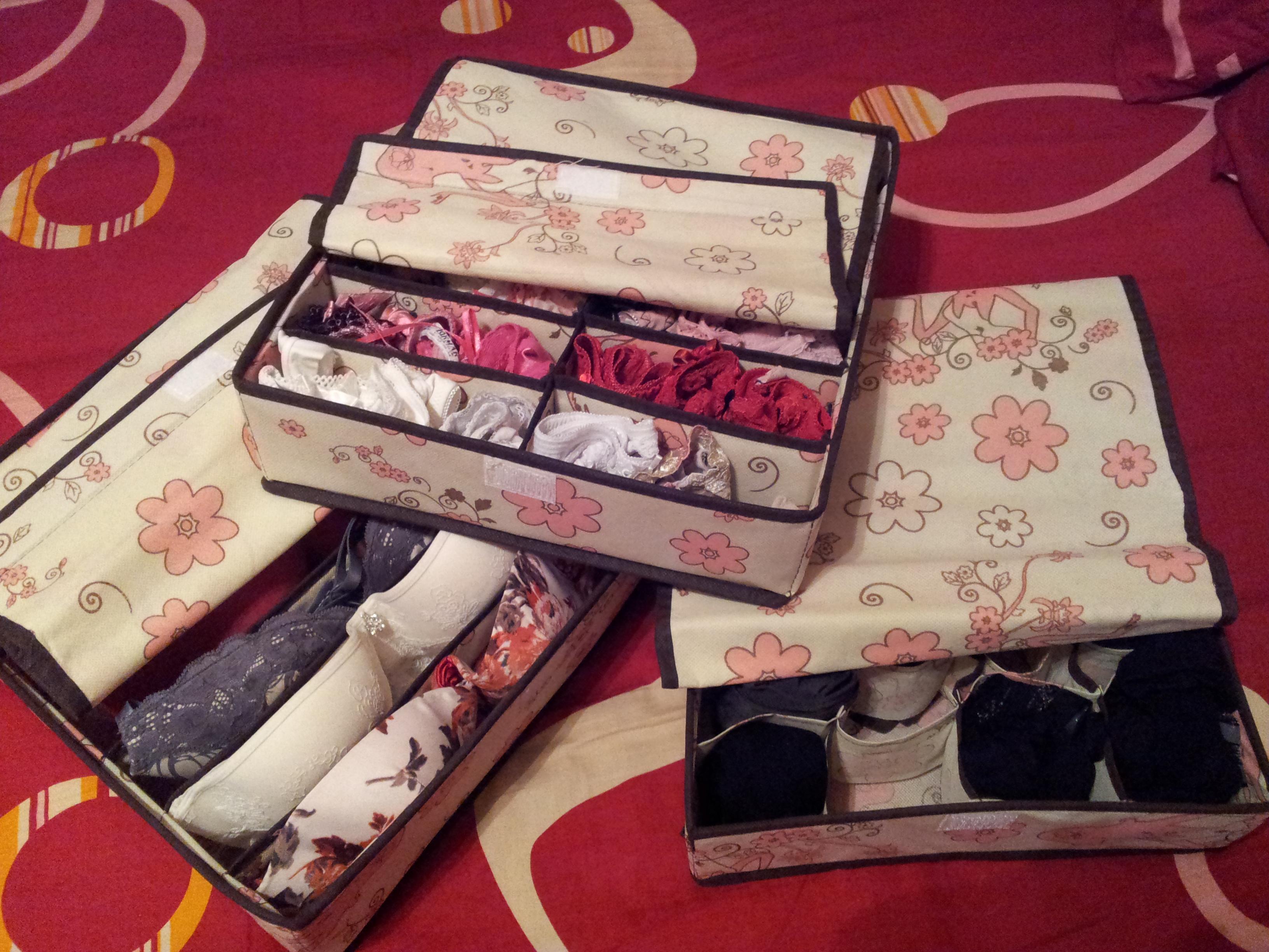 Как сделать ящики для хранения нижнего белья