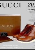 Ботинки мужские черные GUCCi