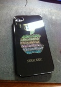 Чехол для iPhone 4\4S SWAROVSKI