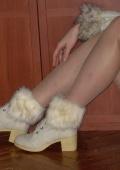 Женственные ботиночки.