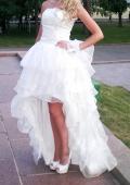 Шикарное платье, туфли и перчаточки!