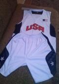 Баскетбольная форма USA