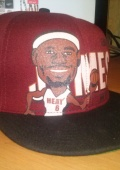 Кепка Miami Heat,Lebron James