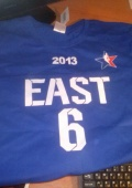 Футболка All Star 2013,Леброна Джеймса