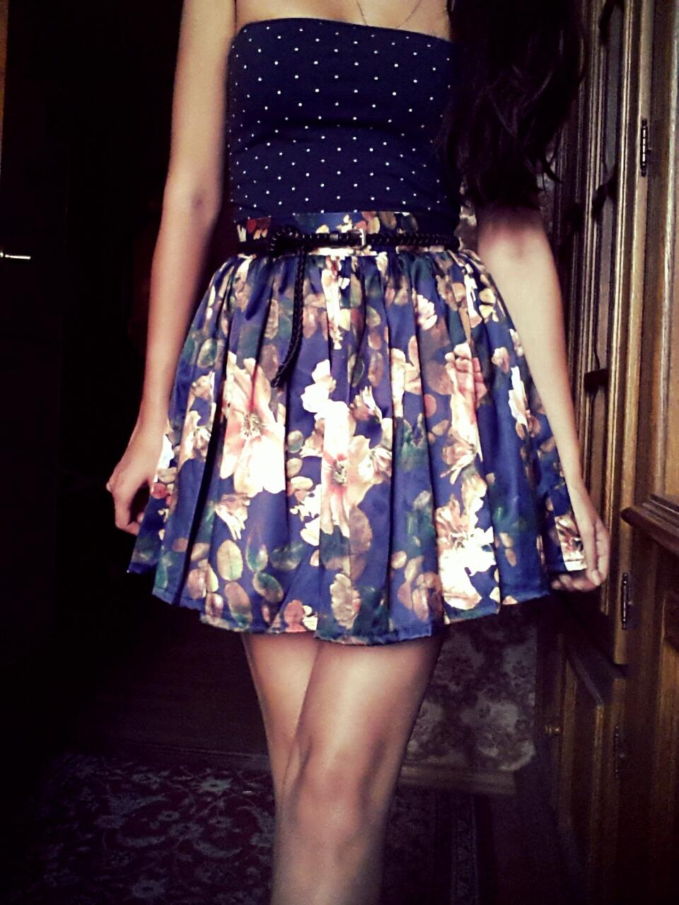 Цветная юбка