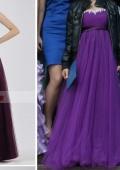 Пышное феолетовое платье!!!