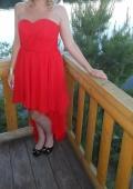 Платье красное на бал! !!!
