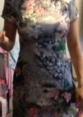 Шёлковое платье ципао