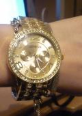 Часы Geneva (жёлтое золото)