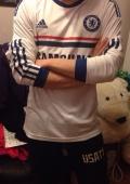 Футболка Челси с длинным рукавом