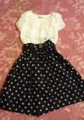 Платье для девочки в горошек брала для дочки на 6 лет