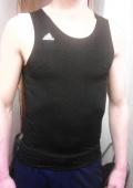 Спортивная футболка Adidas (спортивный стиль)