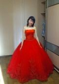Прекрасное свадебное платье и аксессуары к нему