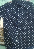 блузка с горошком)