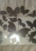 стикери для стен зеркало очень красивая вешь