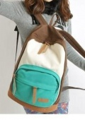 Khaki-New-2014-Casual-Women-s-Colorful-Canvas-Backpacks