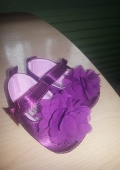Пинетки Purple Rose Baby Shoes Girls