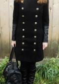 пальто, сумка, сапоги, плащ