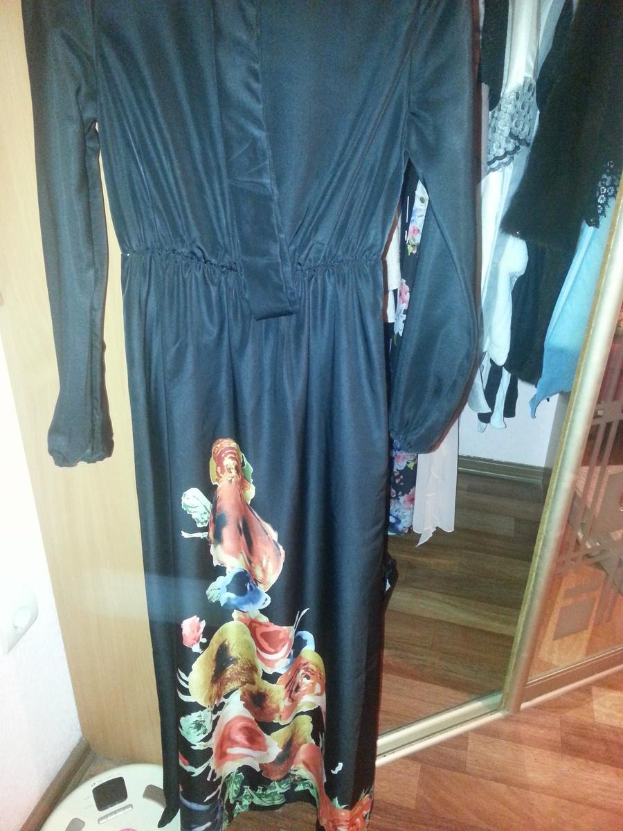 Длинное черное платье с доставкой