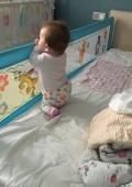 Защитный барьер на кровать