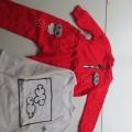 Красный детский костюм