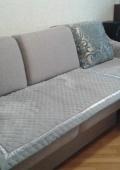 Покрывало на диван с банкеткой