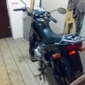 Подножка пассажира левая на мотоцикл SYM XS 125