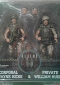 Alien Neca набор фигурок corporal Hicks & private Hudson (капрал Хикс и рядовой Хадсон)