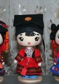 Куклы в китайских национальных костюмах