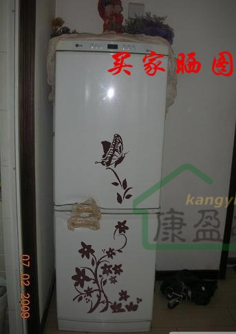 Цветочный холодильник своими руками