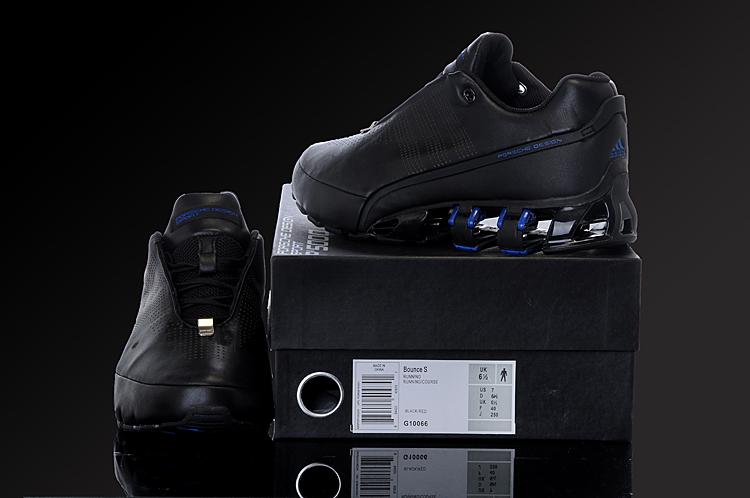 Men's adidas porsche design bounce:sl black blue shoes.