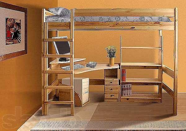 Своими руками сделать кровать и стол