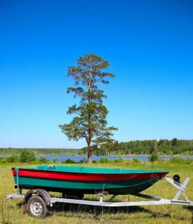 лодки пластиковые финнспорт 400