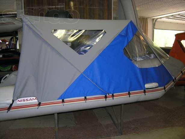 палатки для лодок пвх видео