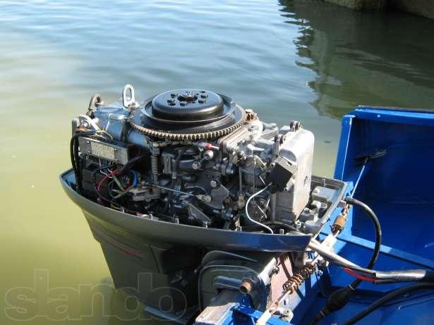 лодочный мотор ямаха 30 на лодке прогресс 4
