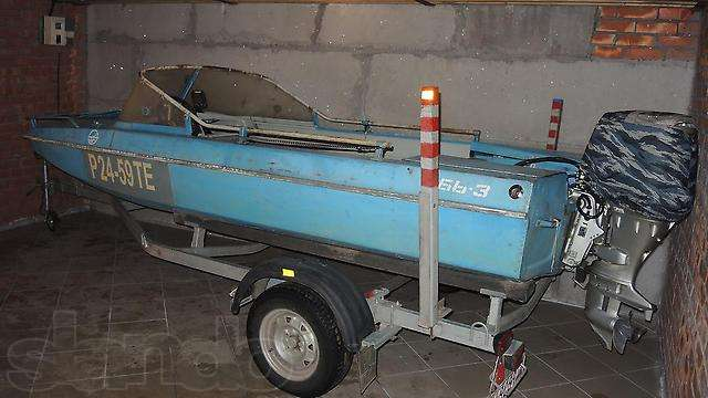 лодка обь-3 с мотором хонда