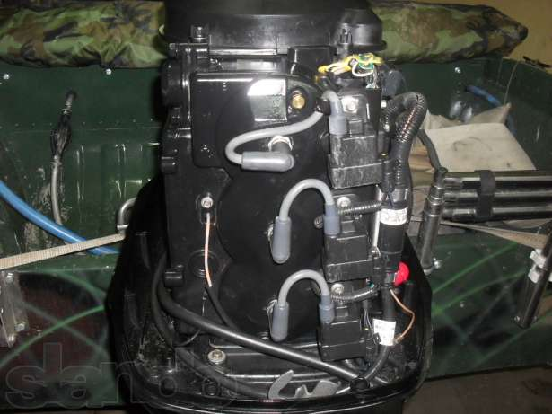 лодочный мотор раздельная система смазки