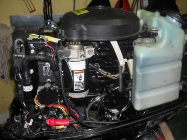 работа лодочного мотора на малых оборотах