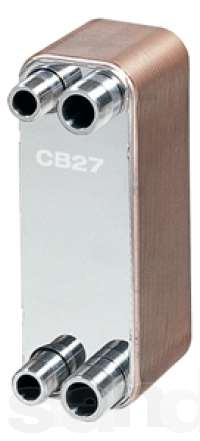 Теплообменник alfa laval cb27 чертеж пластинчатого теплообменника тпр 1.3-400