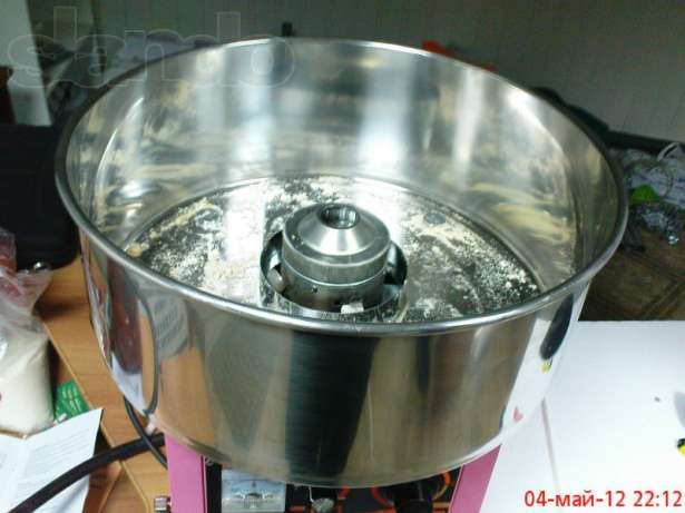 Как сделать аппарат для приготовления ваты