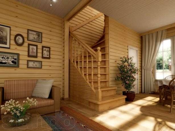 Дизайн в дачном доме