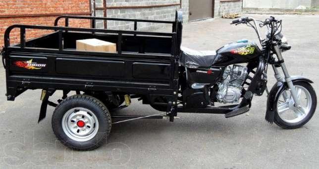 160Трицикл с кузовом