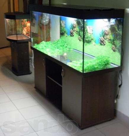 тумба для аквариума в 500 л движения, тепло