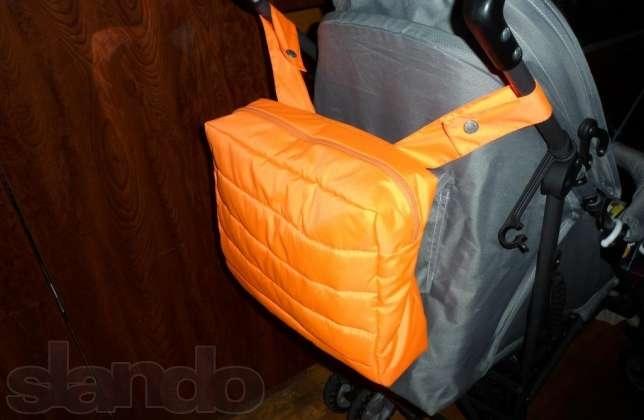 Как пошить сумку на коляску